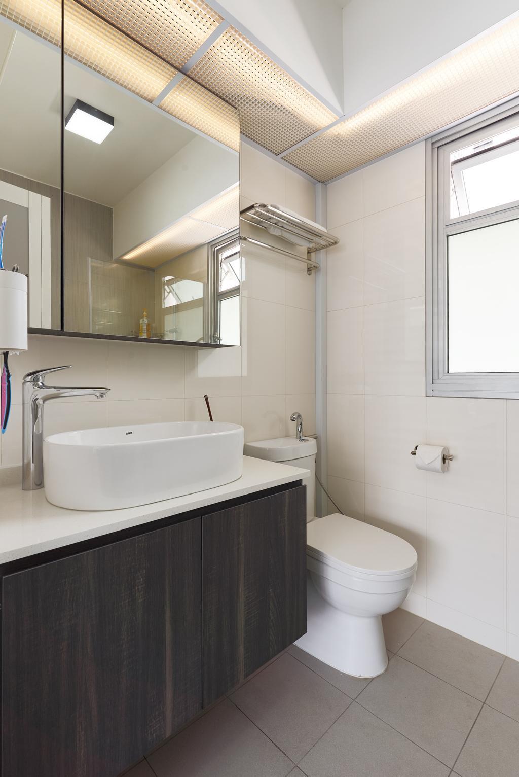 Contemporary, HDB, Bathroom, Sumang Lane, Interior Designer, Project Guru