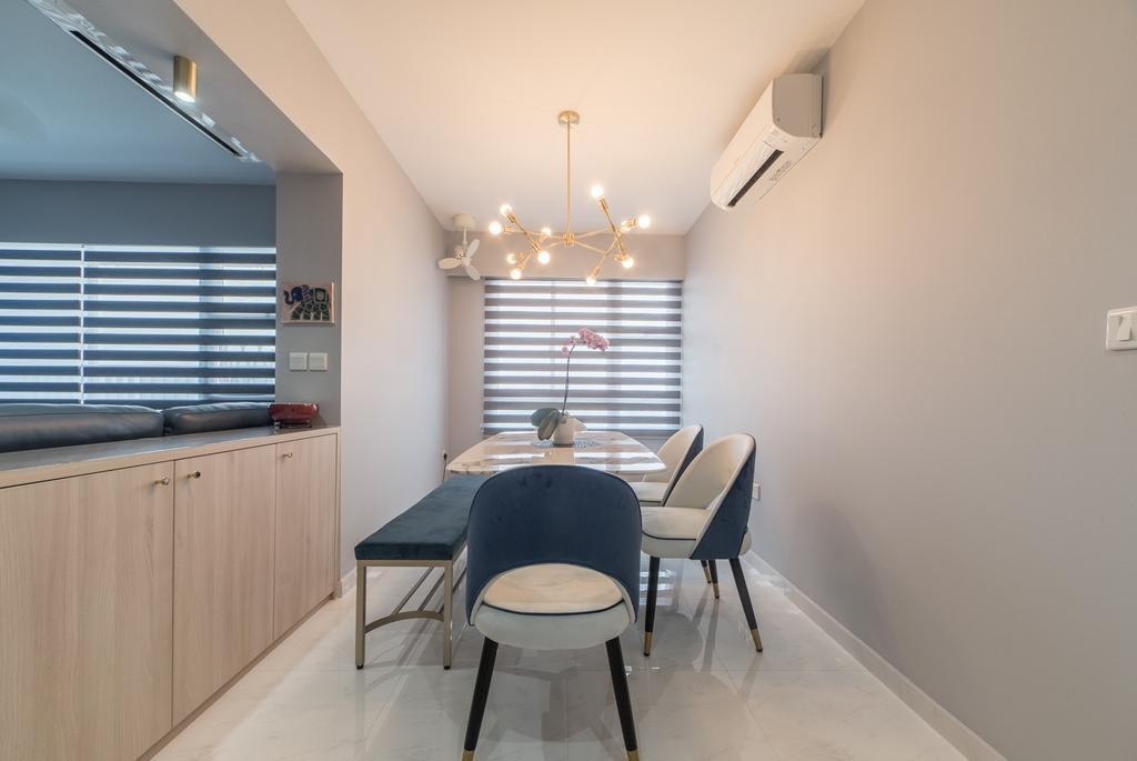 Contemporary, HDB, Dining Room, Commonwealth Drive, Interior Designer, MET Interior