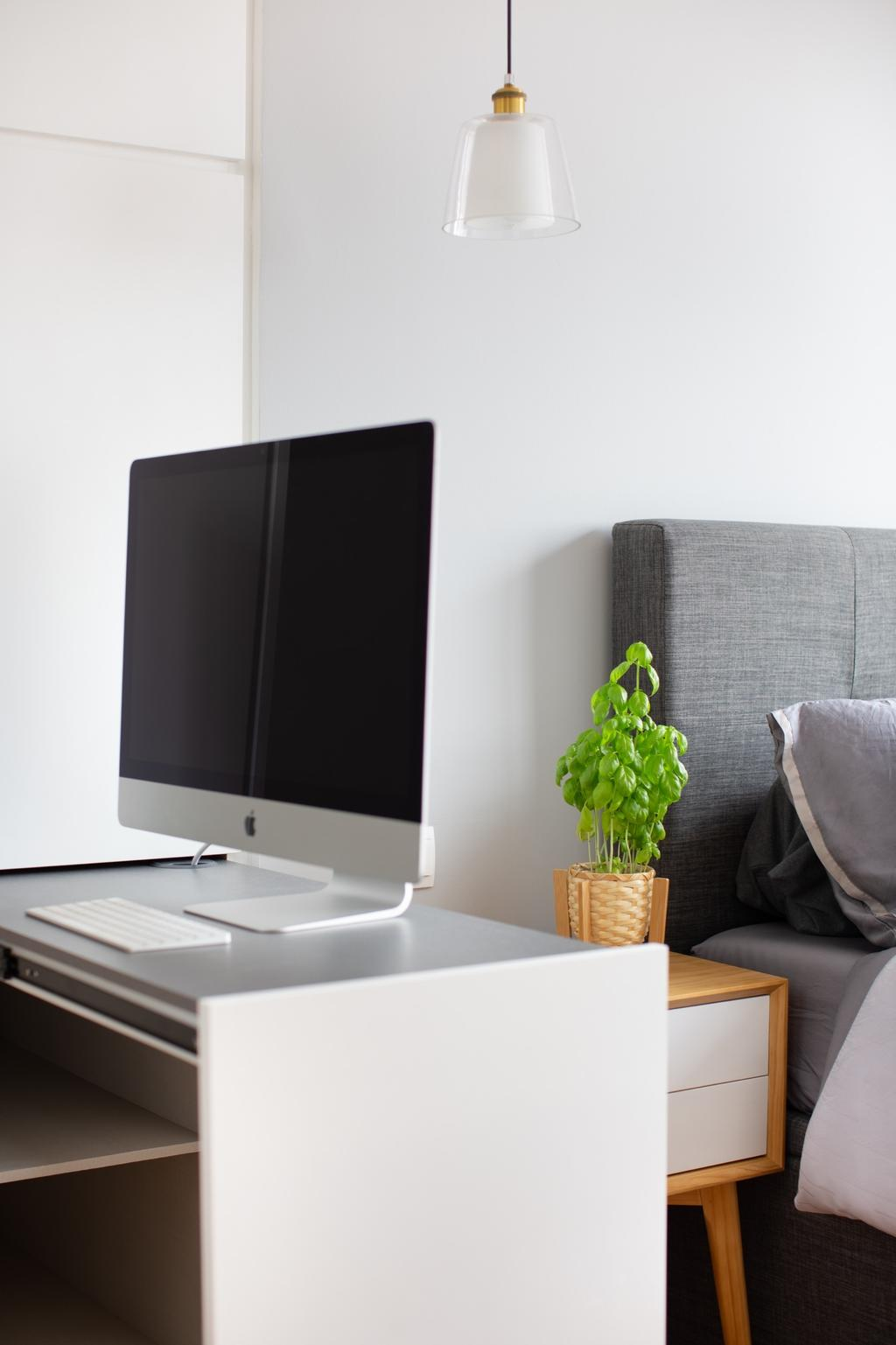 Scandinavian, Condo, Study, The Poiz Residences, Interior Designer, Home Philosophy