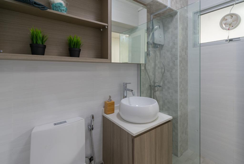 Contemporary, HDB, Bathroom, Choa Chu Kang Street 54, Interior Designer, Yang's Inspiration Design