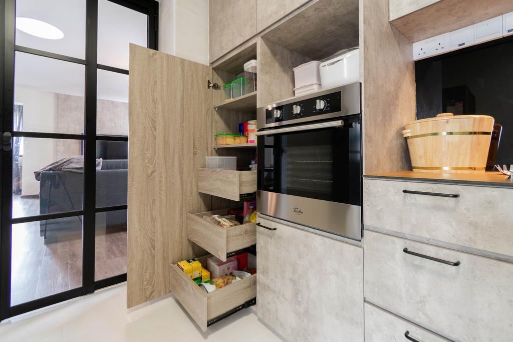 Contemporary, HDB, Kitchen, Choa Chu Kang Street 53, Interior Designer, Yang's Inspiration Design