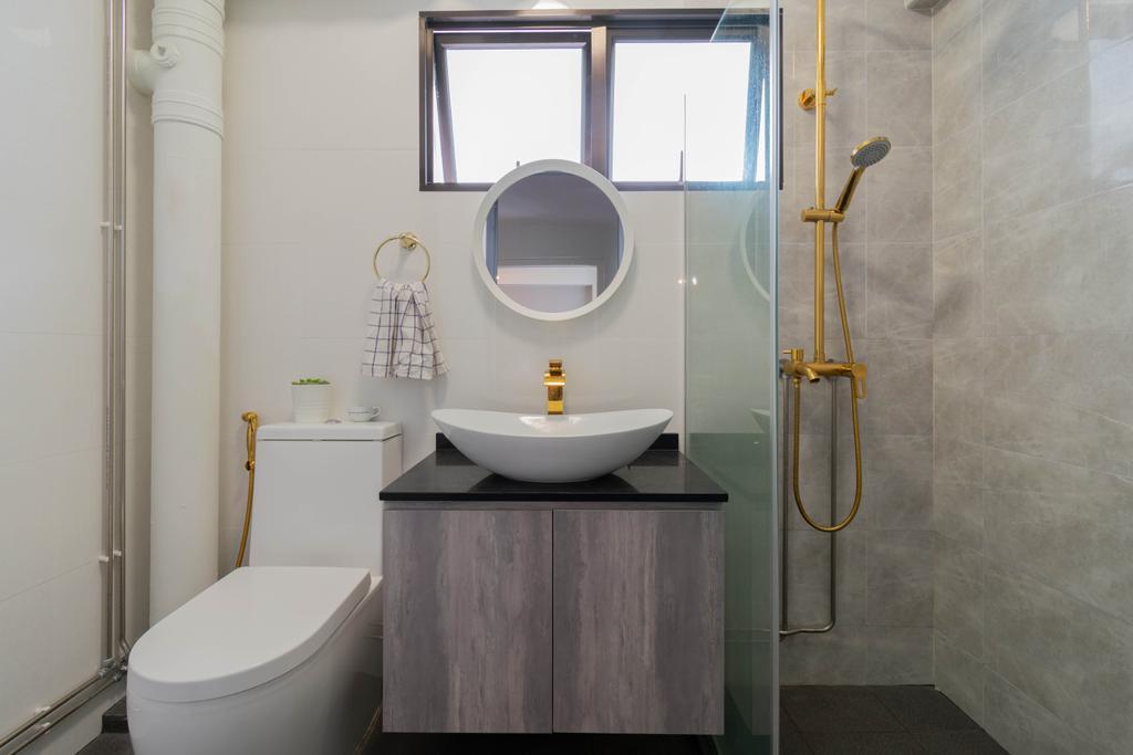 Contemporary, HDB, Bathroom, Choa Chu Kang Street 53, Interior Designer, Yang's Inspiration Design