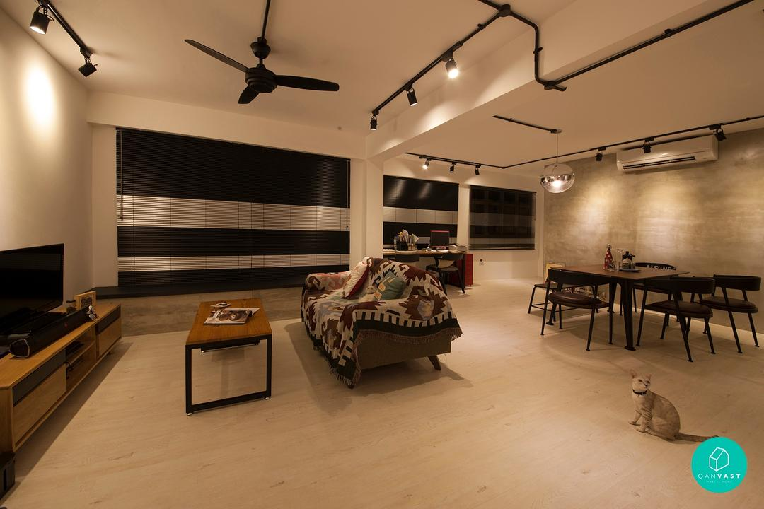 Renovation Journey: A Bold Move With An Open Layout