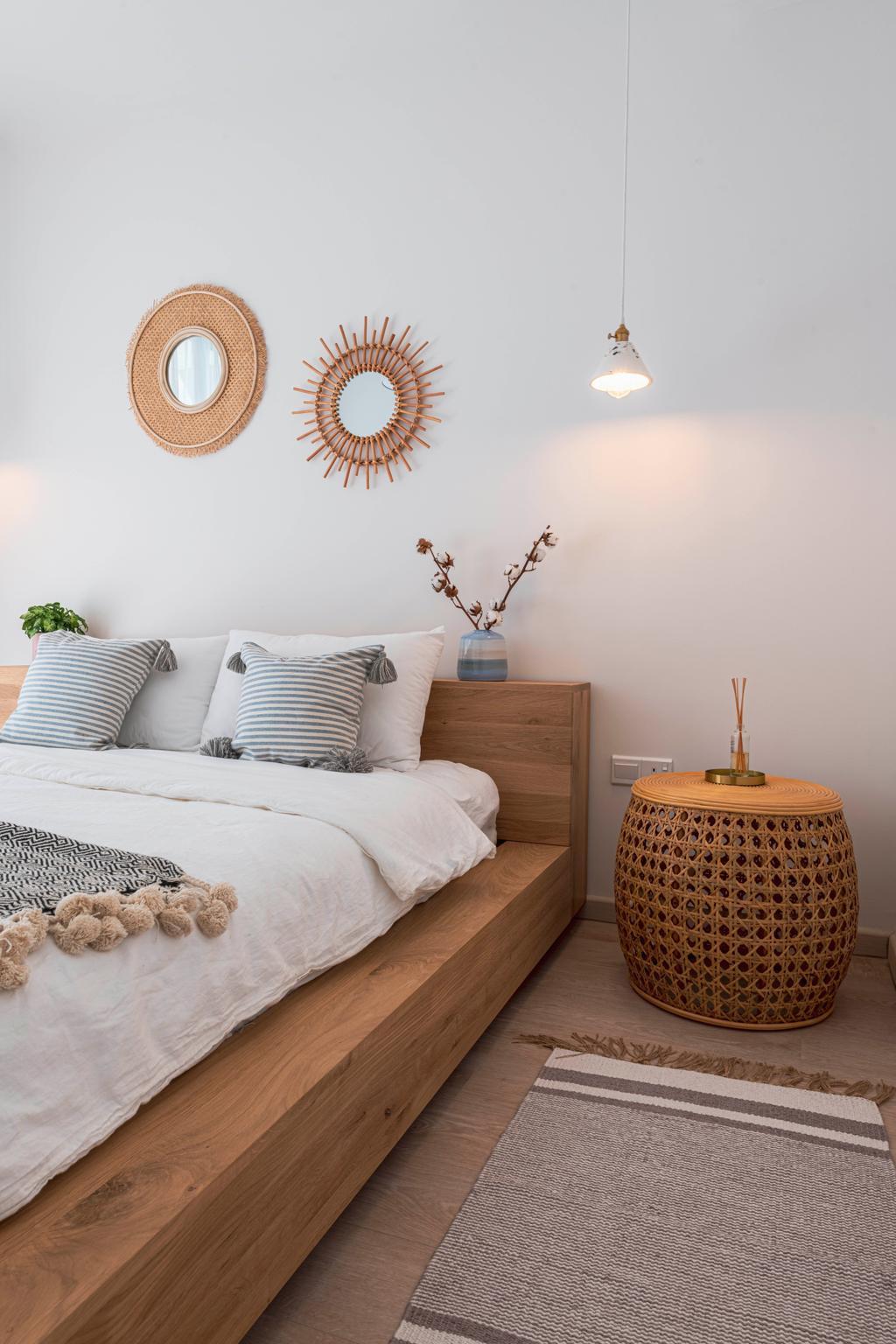 Scandinavian, Condo, Bedroom, Sol Acres, Interior Designer, Colourbox Interior