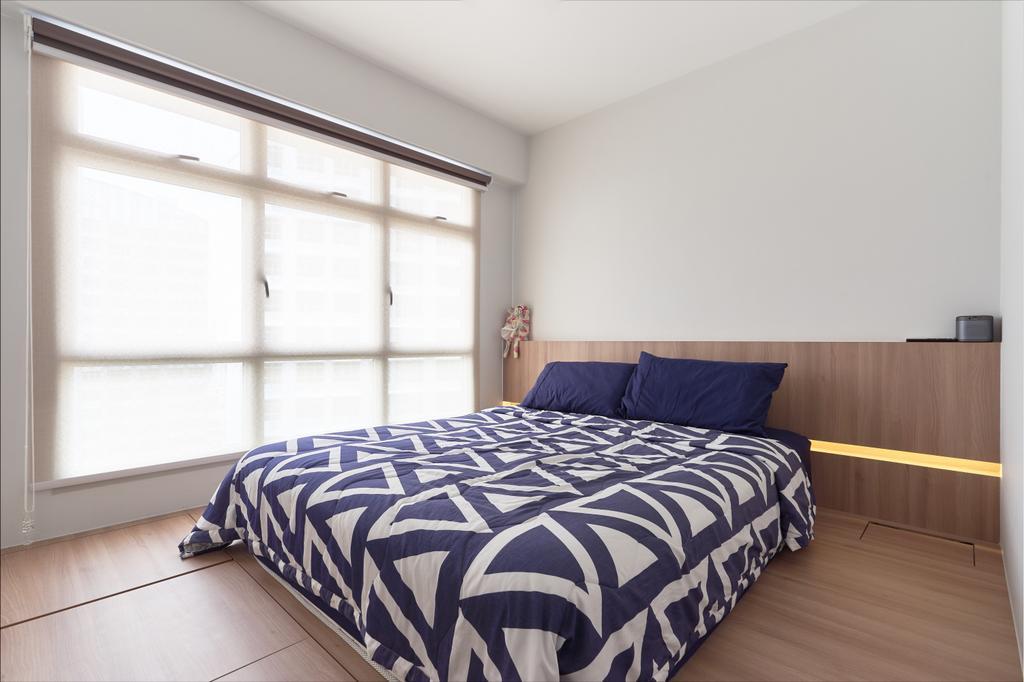 Contemporary, HDB, Bedroom, Sumang Walk, Interior Designer, Charlotte's Carpentry