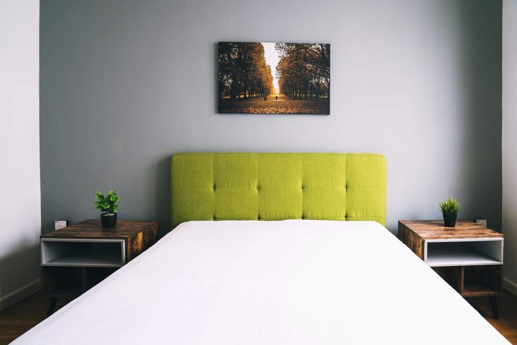 Modern, Landed, Bedroom, Haven Villa, Perak, Interior Designer, Red Land Design, Contemporary