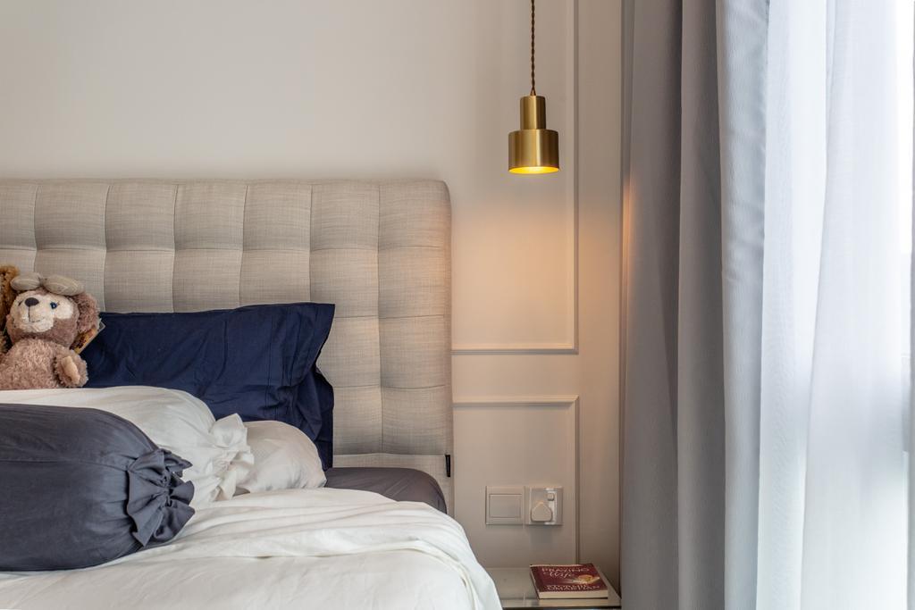 Contemporary, Condo, Bedroom, Treasure Crest, Interior Designer, Luova Project Services, Modern