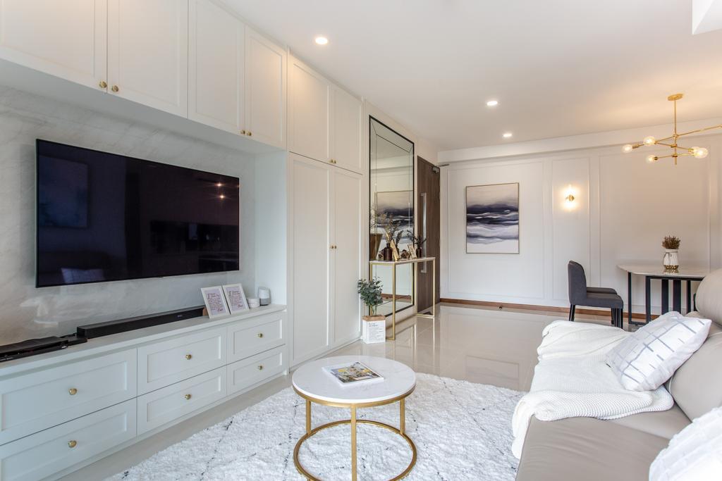 Contemporary, Condo, Living Room, Treasure Crest, Interior Designer, Luova Project Services, Modern