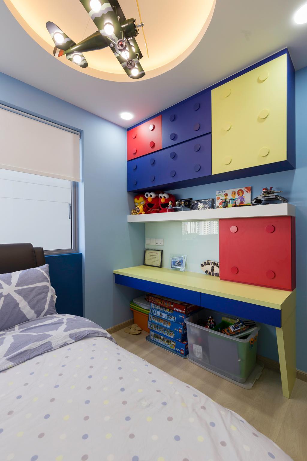 Contemporary, Condo, Bedroom, High Park Residences, Interior Designer, Zenith Arc