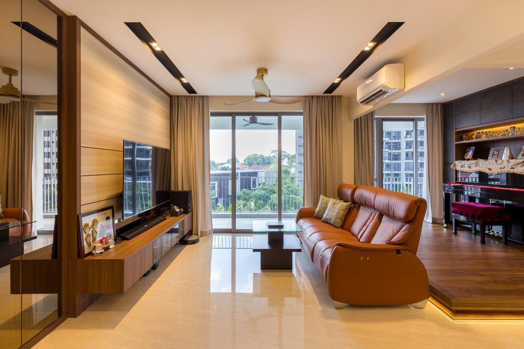 Contemporary, Condo, Living Room, High Park Residences, Interior Designer, Zenith Arc