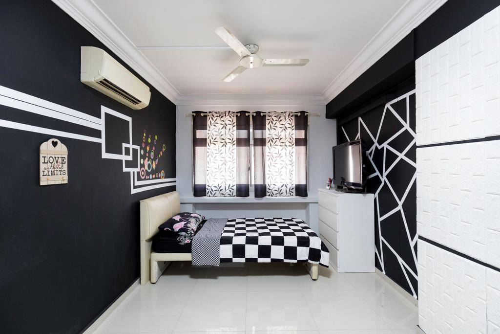 Contemporary, HDB, Bedroom, Choa Chu Kang North 6, Interior Designer, Omni Design