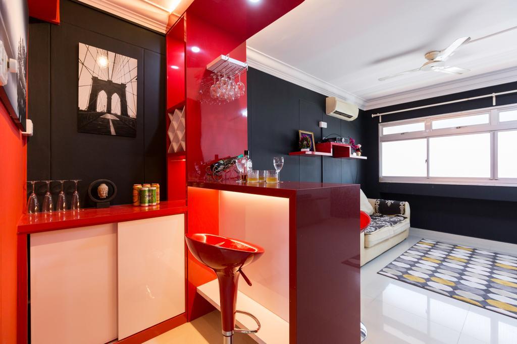 Contemporary, HDB, Choa Chu Kang North 6, Interior Designer, Omni Design