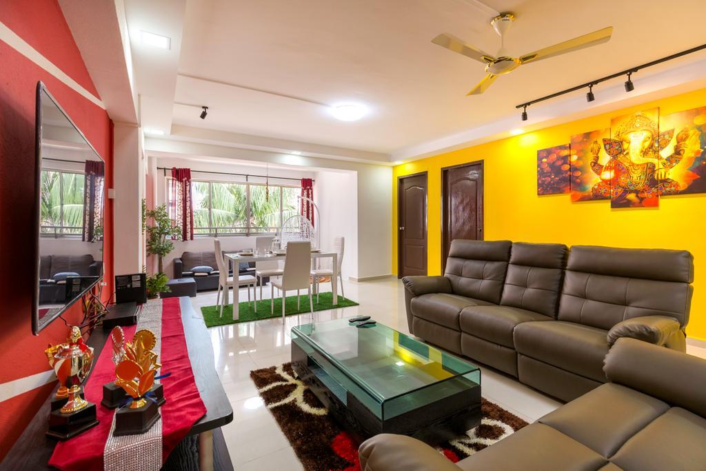 Contemporary, HDB, Living Room, Choa Chu Kang North 6, Interior Designer, Omni Design