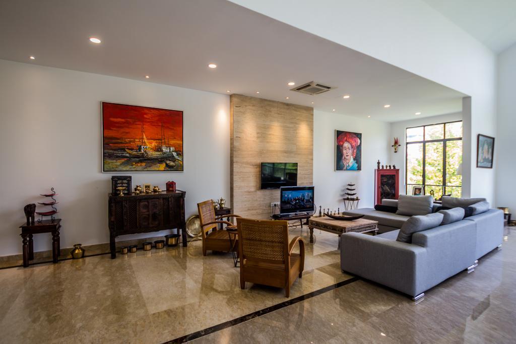 Traditional, Landed, Bungalow Elitis Danau, Sungai Buloh, Interior Designer, Red Land Design