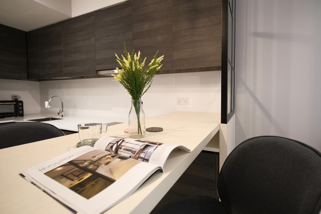 Scandinavian, Condo, Sims Urban Oasis, Interior Designer, Starry Homestead, Contemporary
