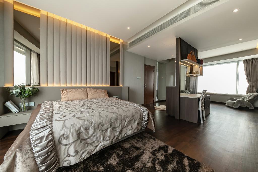 Contemporary, Condo, Bedroom, The Orchard Residences, Interior Designer, Space Atelier