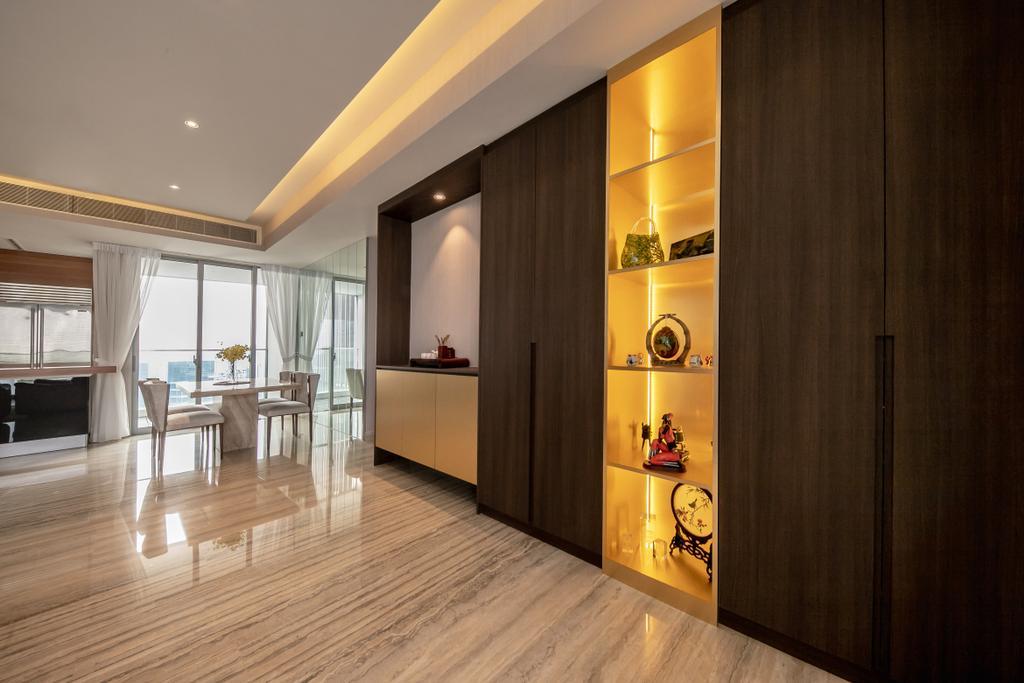 Contemporary, Condo, The Orchard Residences, Interior Designer, Space Atelier