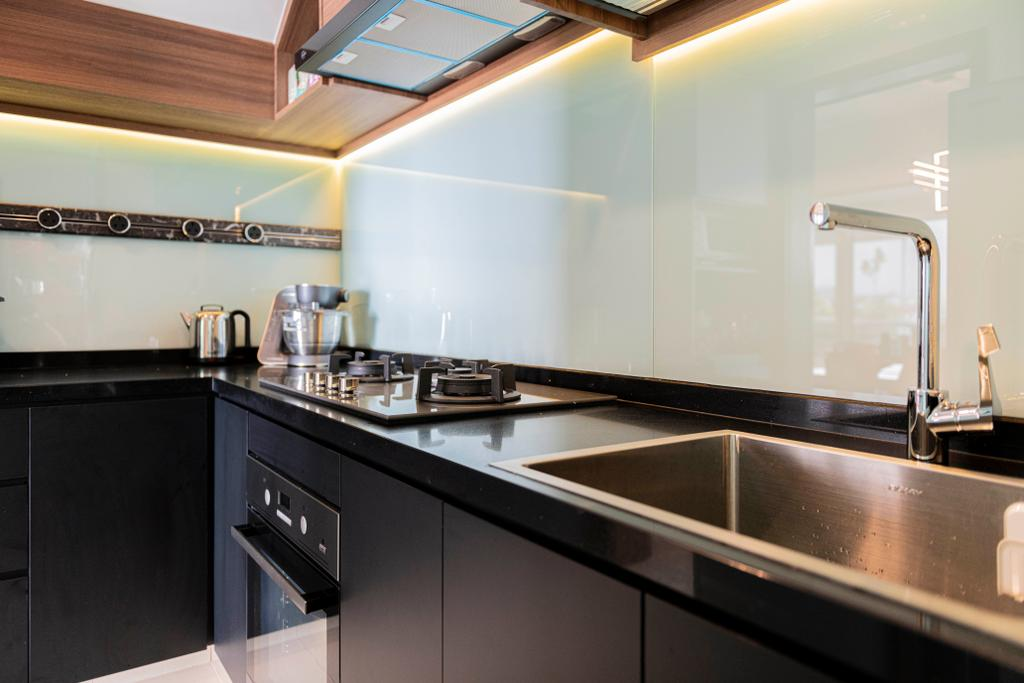 Contemporary, Condo, Kitchen, G Residences, Interior Designer, Butler Interior