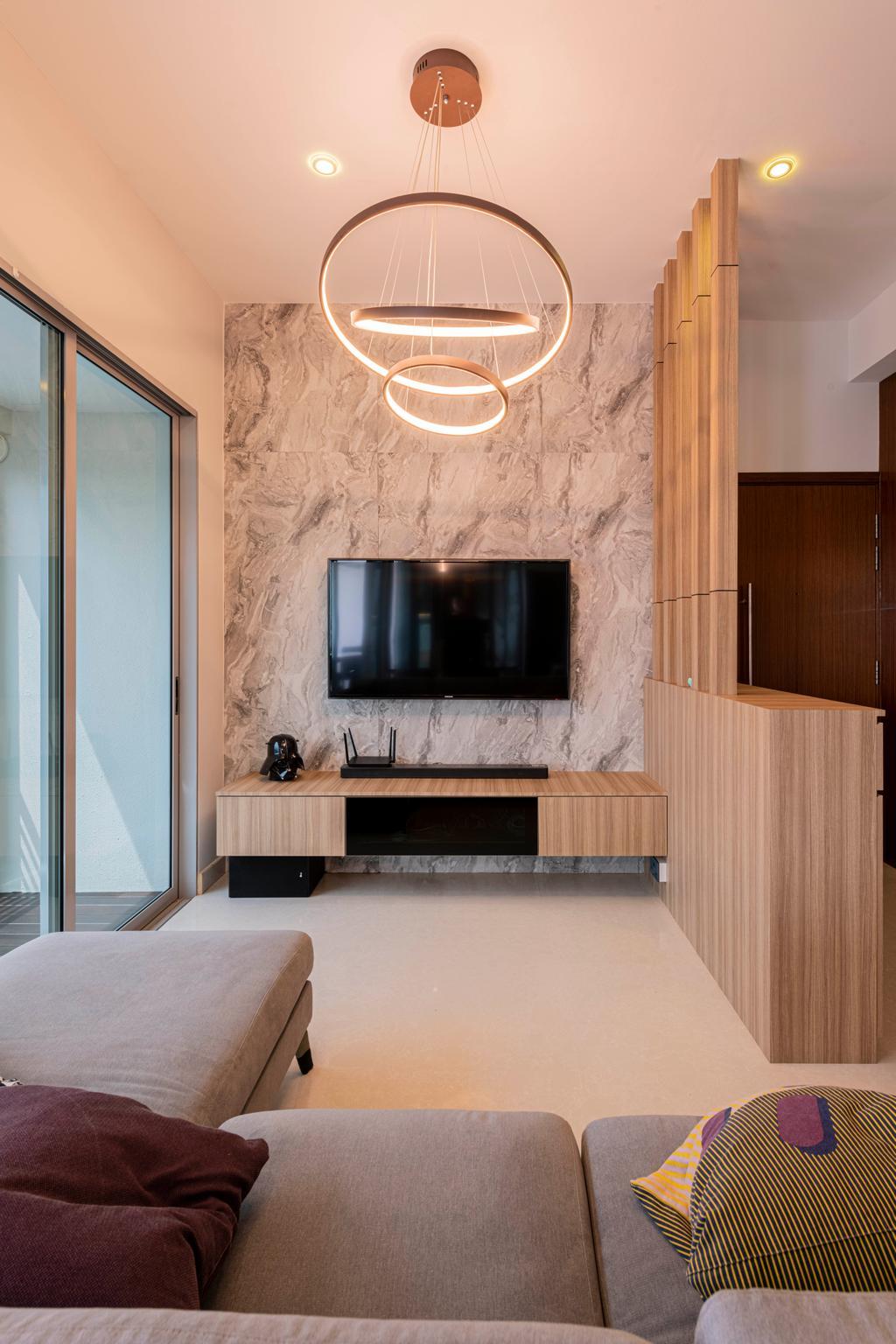 Contemporary, Condo, Living Room, G Residences, Interior Designer, Butler Interior
