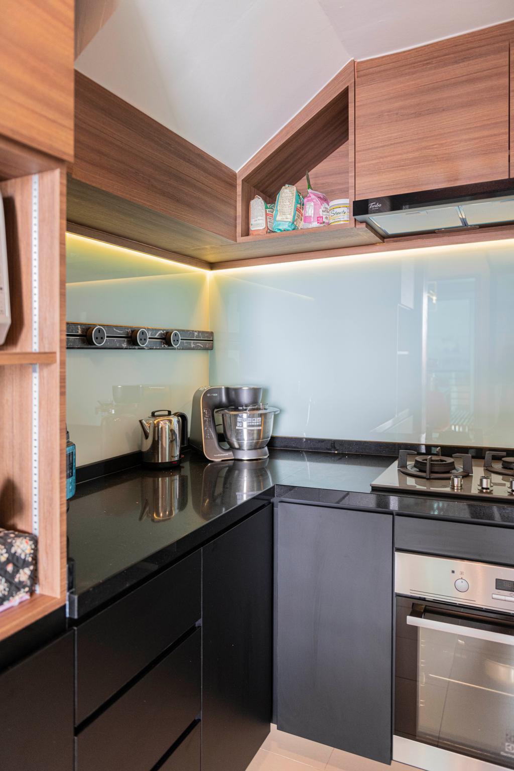 Contemporary, Condo, Kitchen, G Residences, Interior Designer, Butler Interior