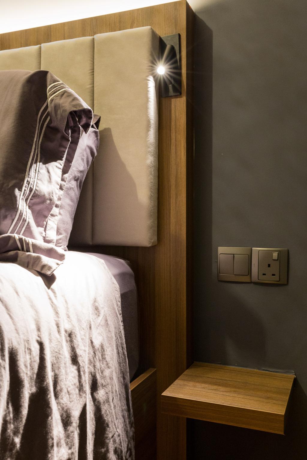Contemporary, Condo, Bedroom, Kingsford Waterbay, Interior Designer, Butler Interior