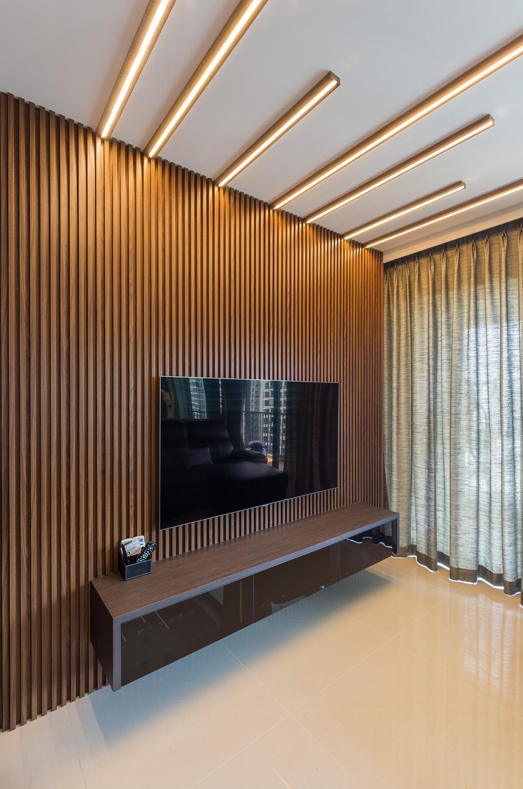 Contemporary, Condo, Living Room, Kingsford Waterbay, Interior Designer, Butler Interior