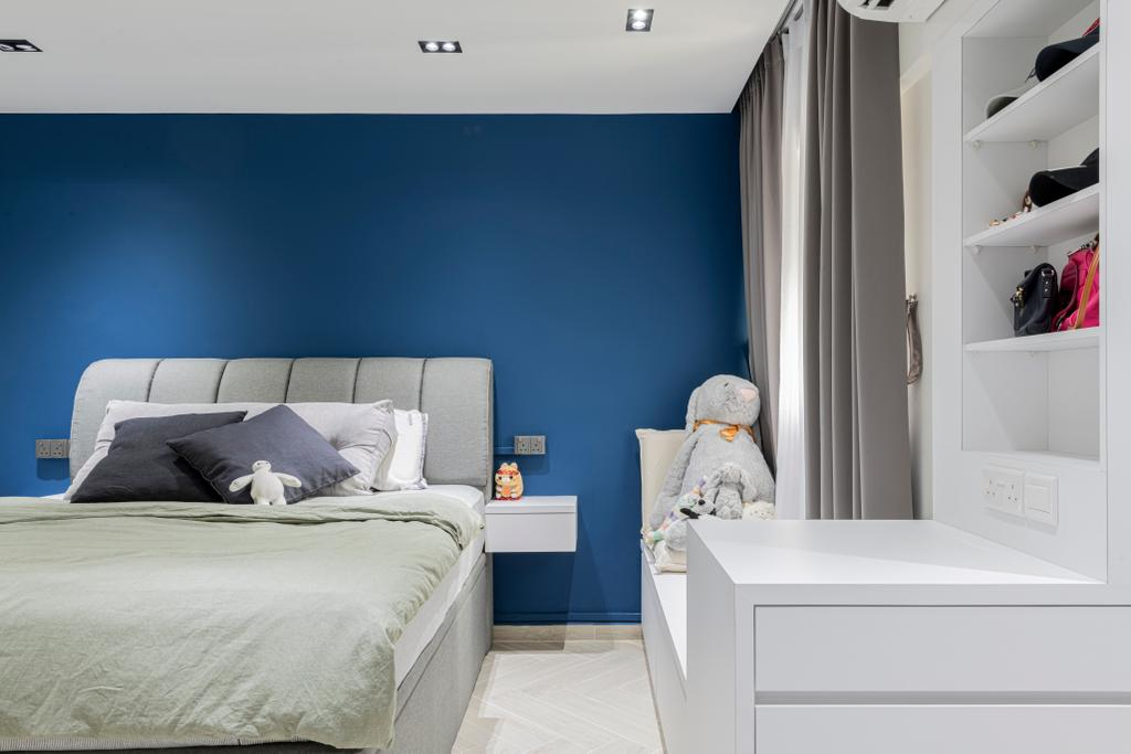 Scandinavian, HDB, Bedroom, Veerasamy Road, Interior Designer, Meter Square