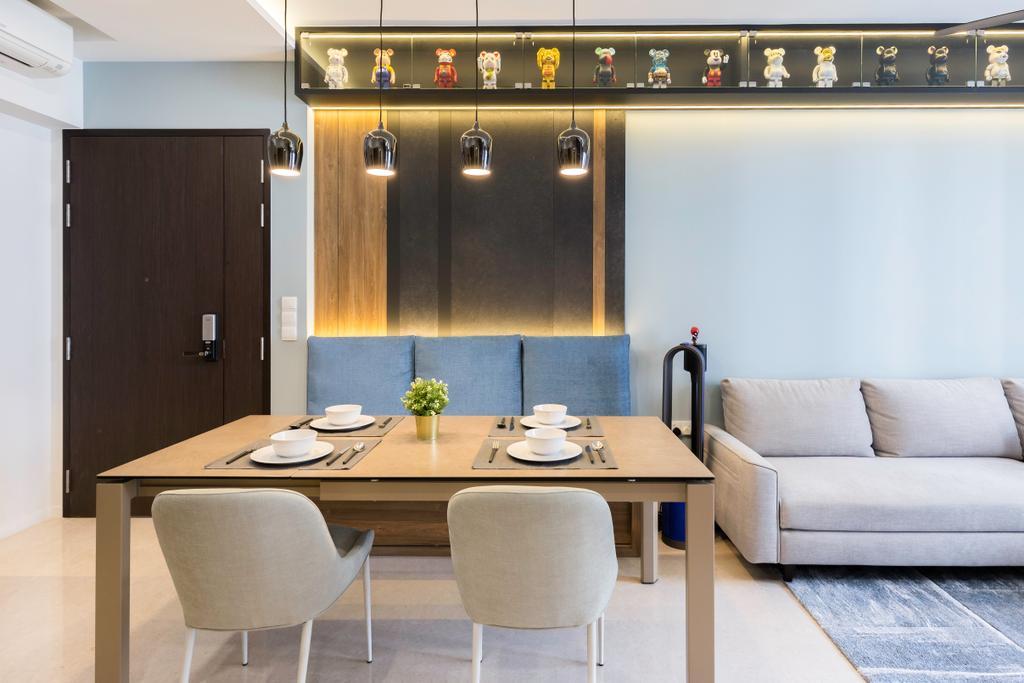 Contemporary, Condo, Dining Room, Botanique At Bartley, Interior Designer, Inizio Atelier