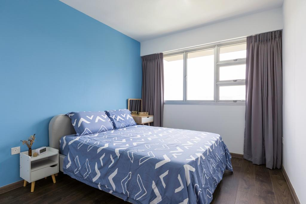 Scandinavian, HDB, Bedroom, Sembawang Crescent, Interior Designer, Style Living Interior