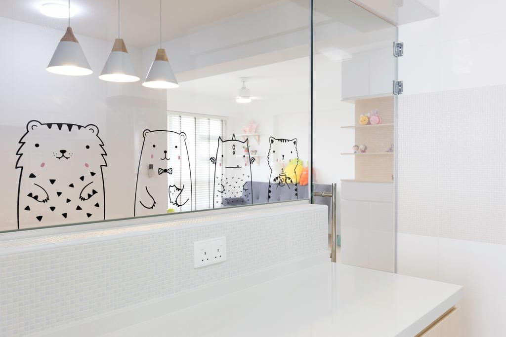 Scandinavian, HDB, Kitchen, Sembawang Crescent, Interior Designer, Style Living Interior