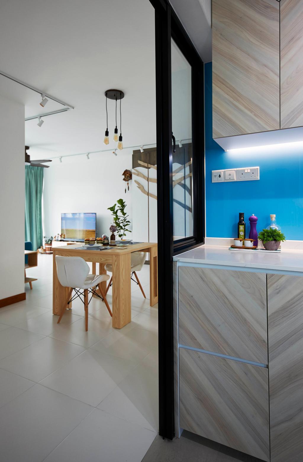 Contemporary, HDB, Telok Blangah Street 31, Interior Designer, i-Chapter