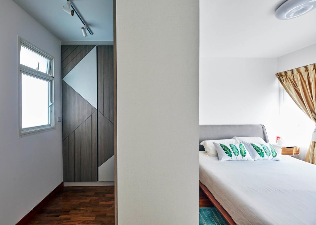 Contemporary, HDB, Bedroom, Telok Blangah Street 31, Interior Designer, i-Chapter