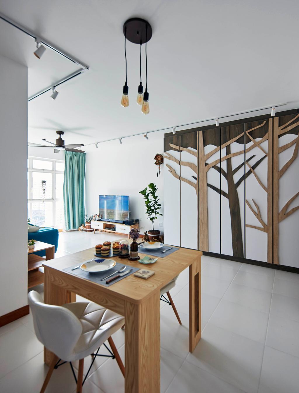 Contemporary, HDB, Living Room, Telok Blangah Street 31, Interior Designer, i-Chapter