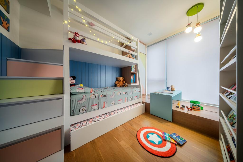 Contemporary, Landed, Bedroom, Belgravia Drive, Interior Designer, Weiken.com