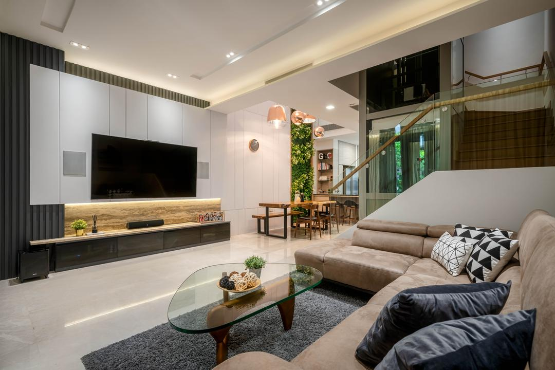 Belgravia Drive Living Room Interior Design 2
