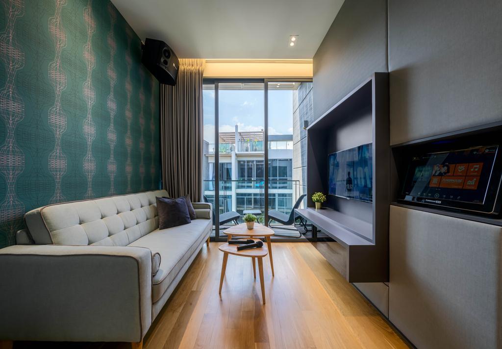 Contemporary, Landed, Study, Belgravia Drive, Interior Designer, Weiken.com