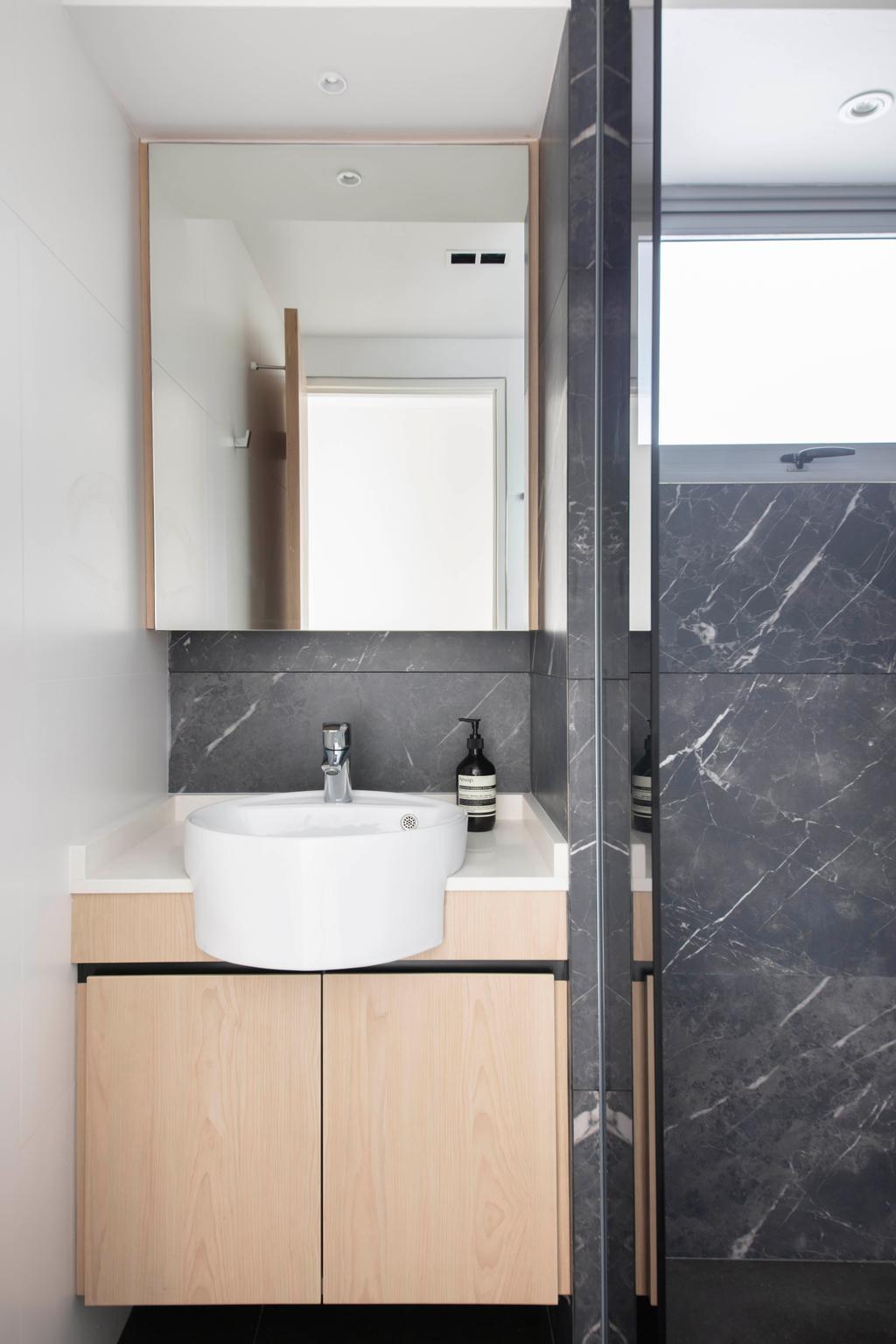Contemporary, HDB, Bathroom, Boon Keng Road, Interior Designer, KDOT