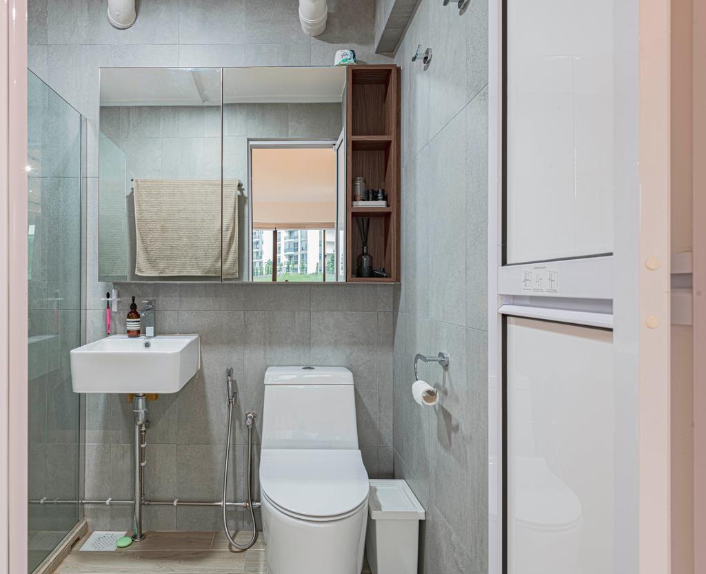 Contemporary, HDB, Bathroom, Yishun Street 72, Interior Designer, Style Living Interior