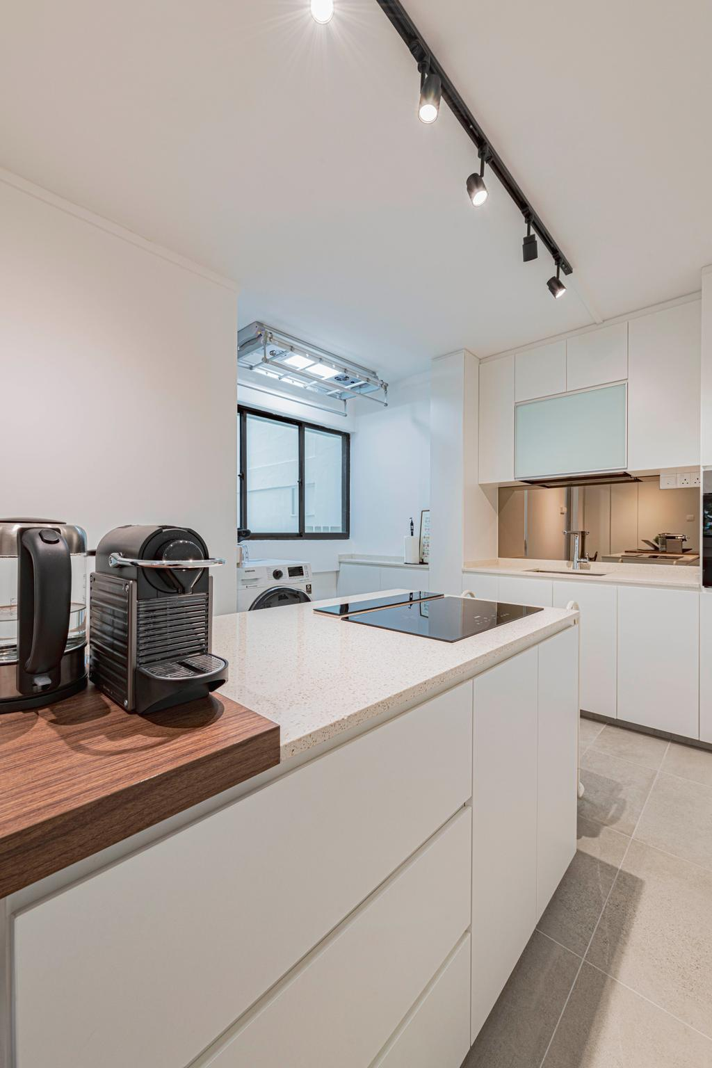 Contemporary, HDB, Kitchen, Yishun Street 72, Interior Designer, Style Living Interior