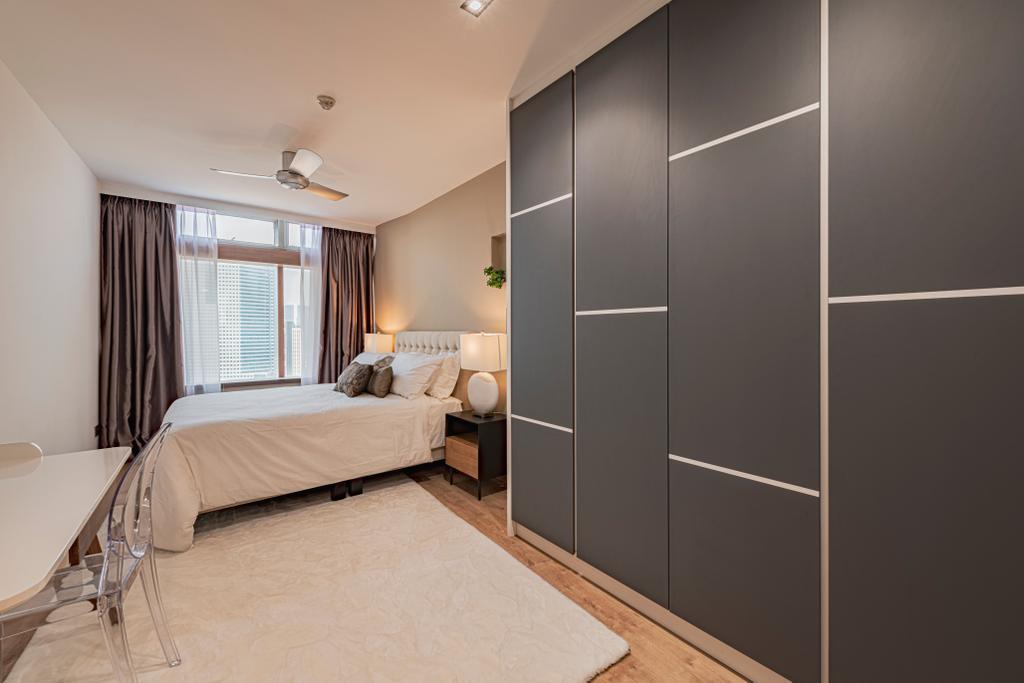 Modern, Condo, Bedroom, The Plaza @Beach Road, Interior Designer, VNA Design