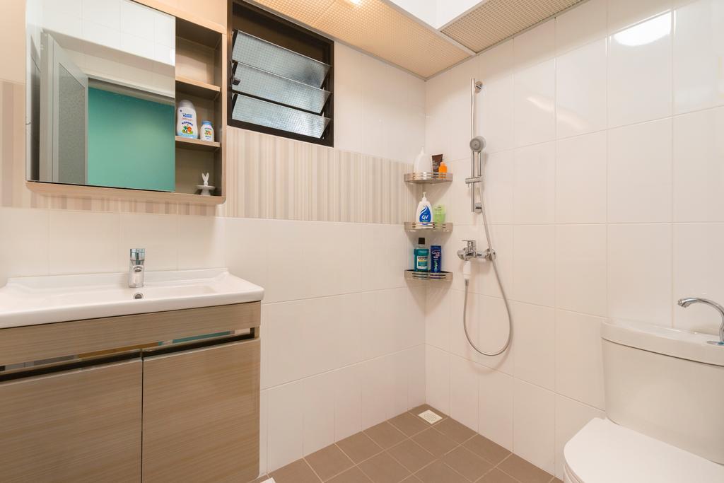Vintage, HDB, Bathroom, Toa Payoh East, Interior Designer, Great Oasis Interior Design