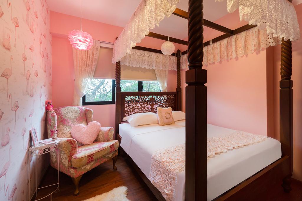 Vintage, HDB, Bedroom, Toa Payoh East, Interior Designer, Great Oasis Interior Design