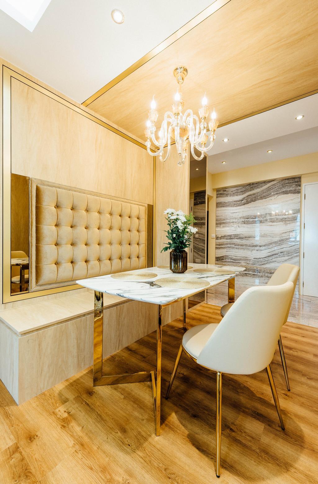 Modern, HDB, Dining Room, Geylang Serai, Interior Designer, Fatema Design Studio