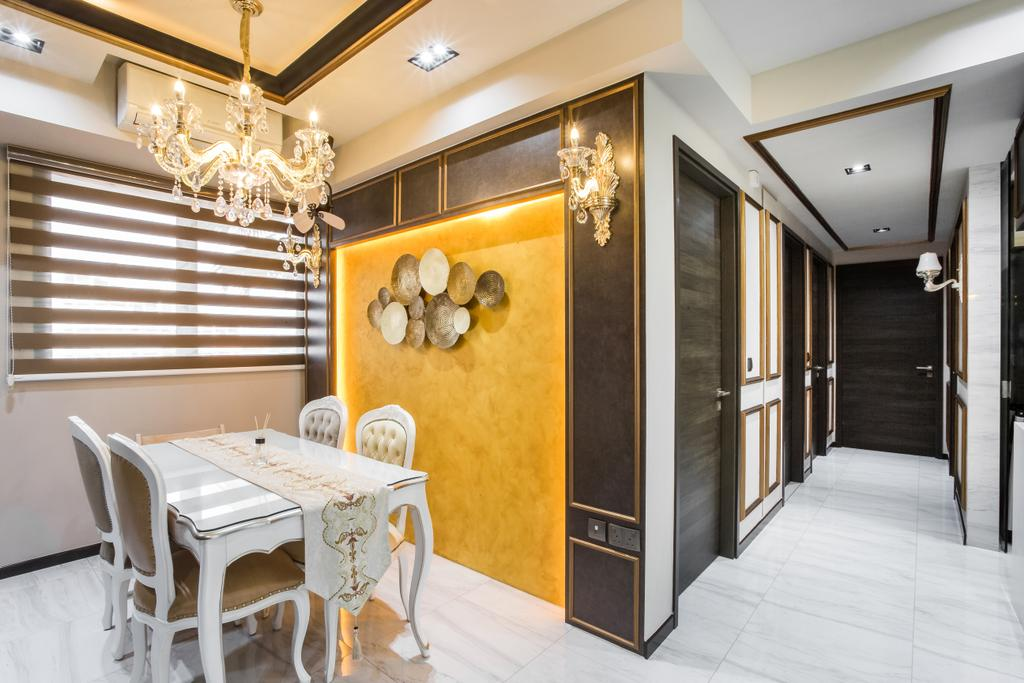Eclectic, Condo, Dining Room, The Poiz Residence, Interior Designer, De Exclusive Design Group
