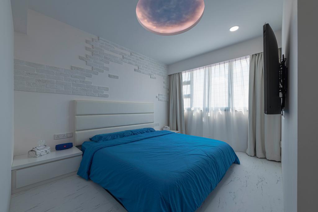 Eclectic, HDB, Bedroom, Woodlands Street 13, Interior Designer, De Exclusive Design Group