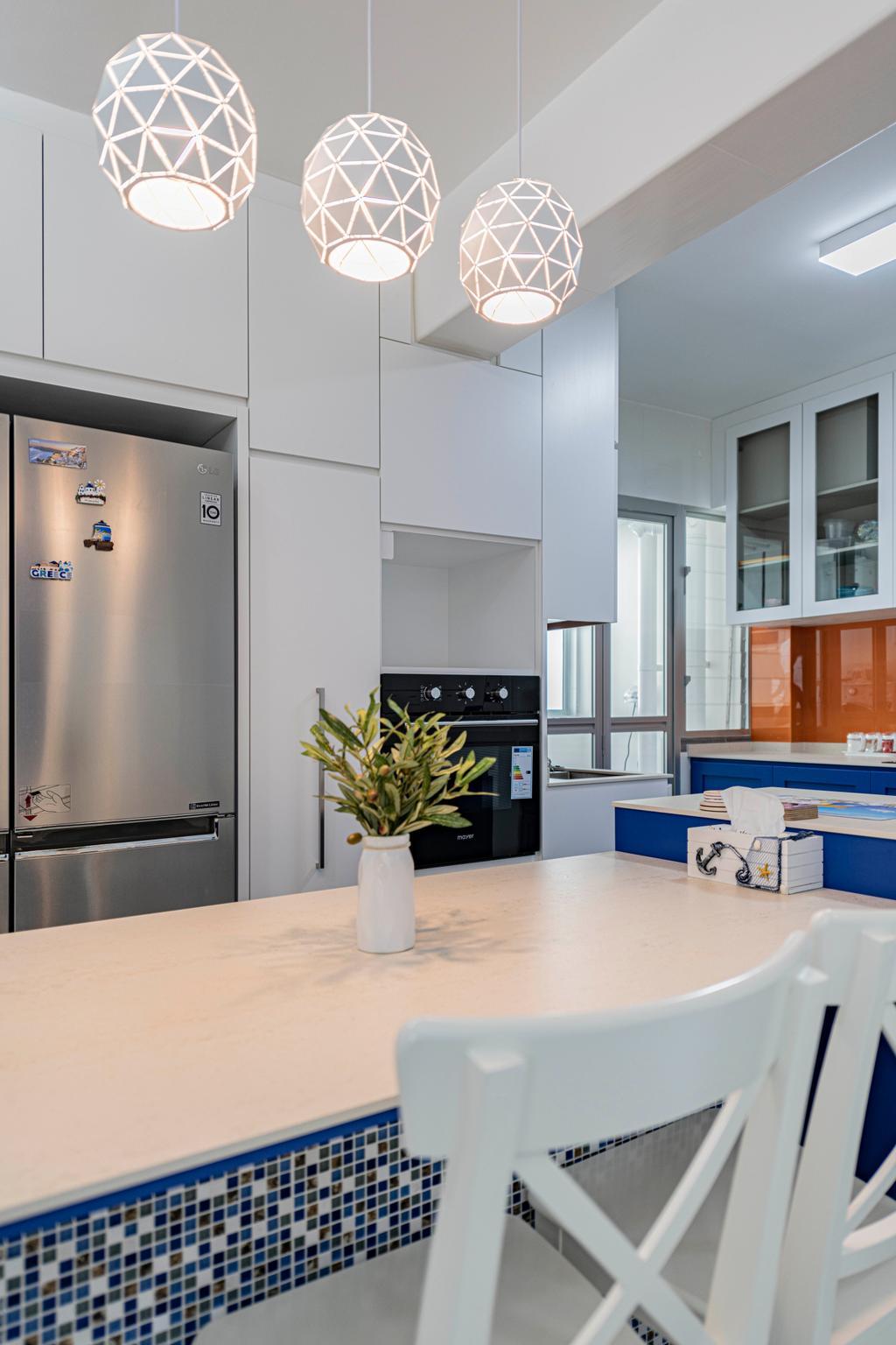 Eclectic, HDB, Dining Room, Woodlands Street 13, Interior Designer, De Exclusive Design Group
