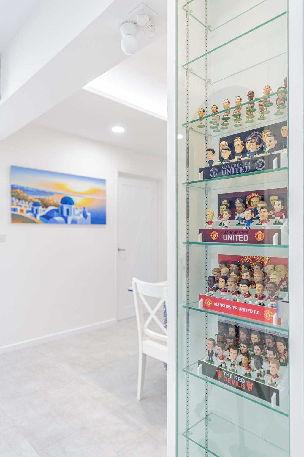Eclectic, HDB, Living Room, Woodlands Street 13, Interior Designer, De Exclusive Design Group