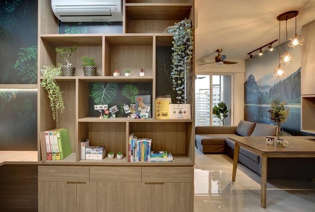 Scandinavian, Condo, Living Room, High Park Residences, Interior Designer, Space Factor