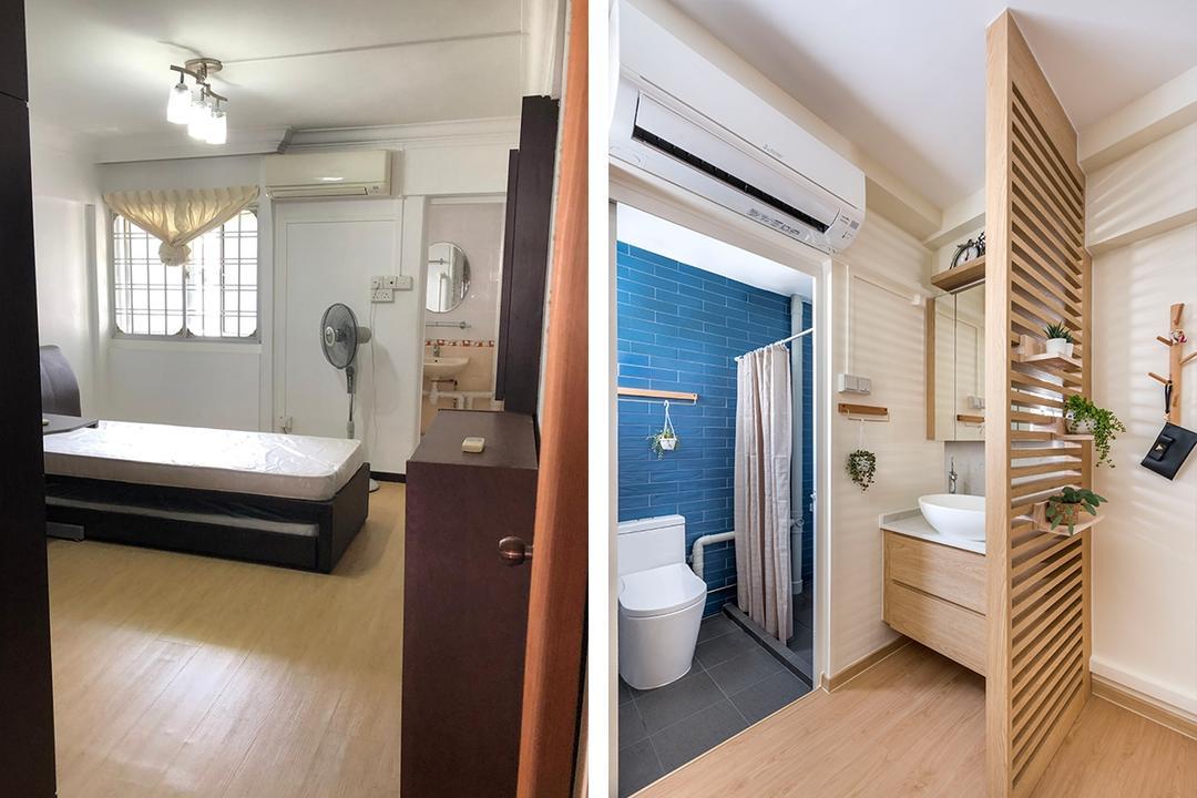 jumbo HDB flat Japanese Muji style