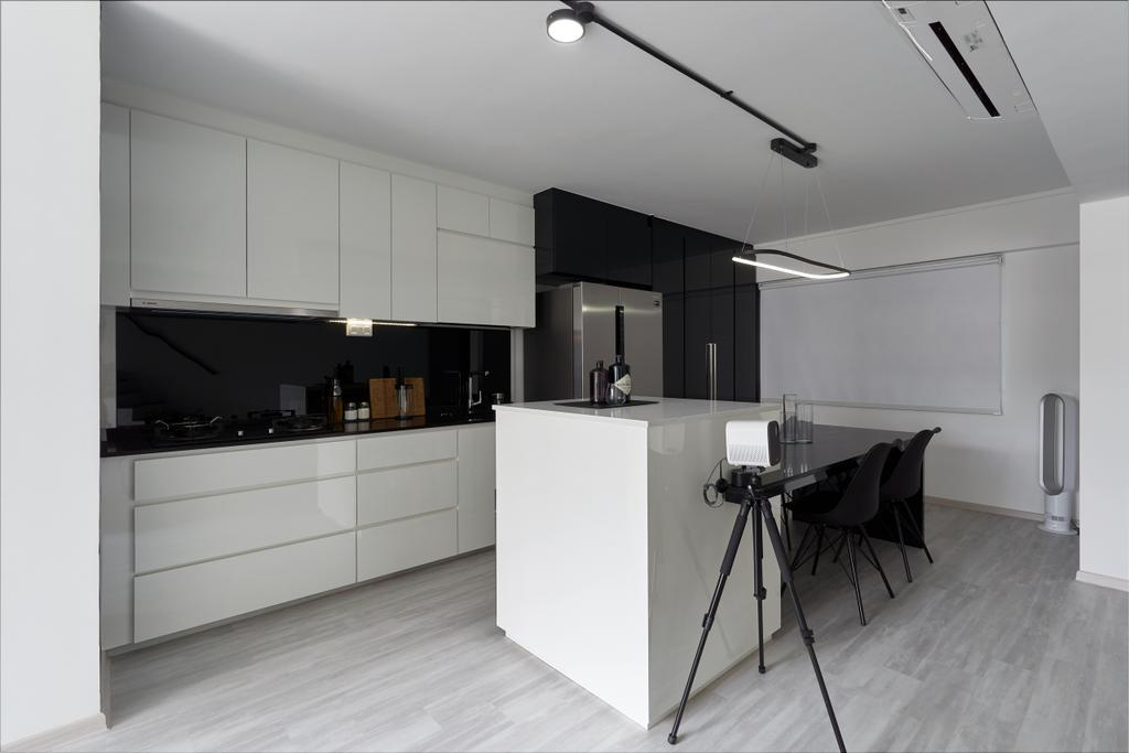 Contemporary, HDB, Kitchen, Teck Whye Lane, Interior Designer, Colourbox Interior